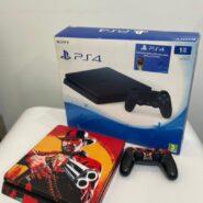 PlayStation 4 Slim 1TB پلی استیشن 4 اسلیم یک ترا (کارکرده)