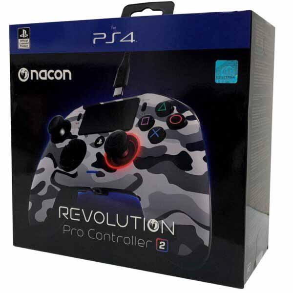کنترلر خاکستری ارتشی NACON Revolution PRO Controller V2 Gray Camo
