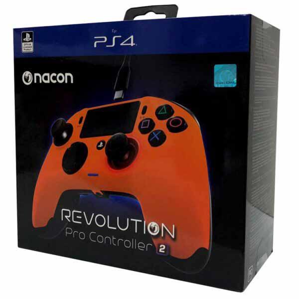کنترلر نارنجی NACON Revolution PRO Controller V2 Orange