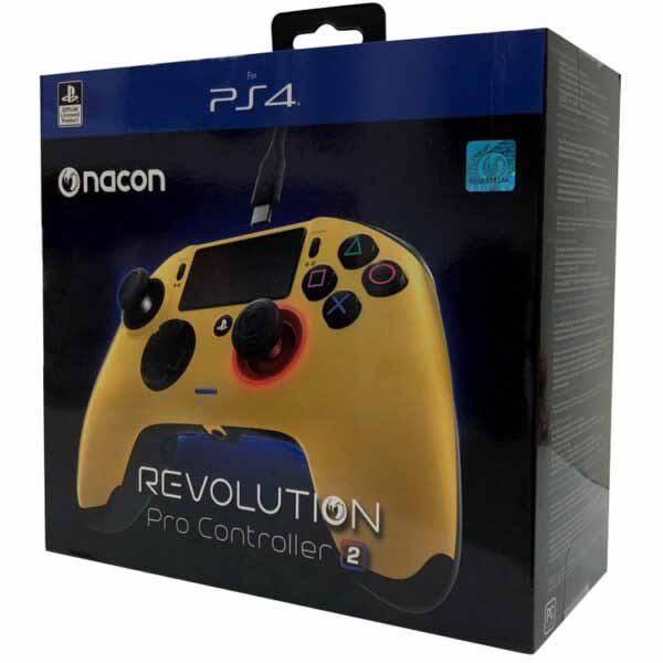 خرید کنترلر طلایی NACON Revolution PRO Controller V2 Gold
