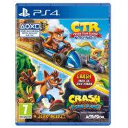 خرید دیسک بازی Crash Team Racing Nitro-Fueled + Crash Trilogy Bundle
