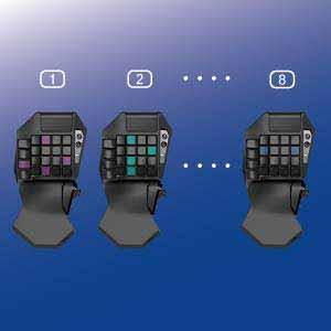 موس و کیبورد پلی استیشن HORI TAC Pro Type M2
