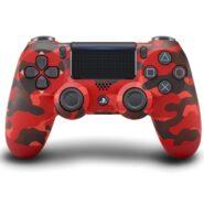خرید دسته PS4 قرمز ارتشی DualShock 4 Red Camo