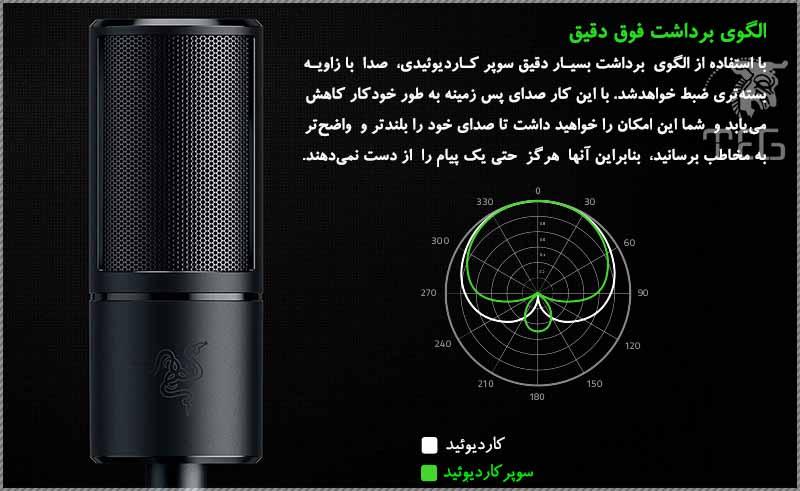 خرید میکروفون استریم ریزر Microphone Razer Seiren X