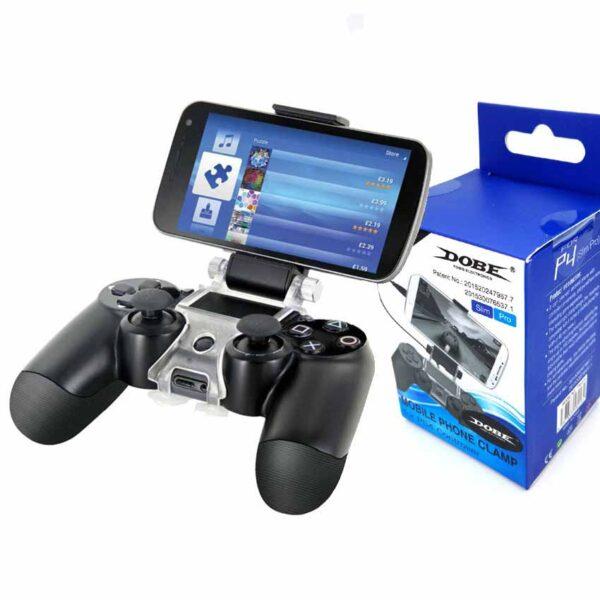 خرید نگه دارنده گوشی و دسته بازی Mobile Phone Clamp برند DOBE