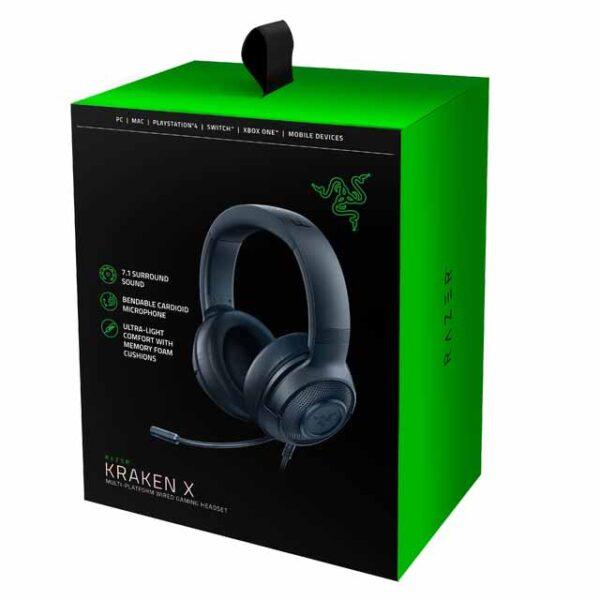 خرید هدست ریزر Headset Gaming Razer Kraken X Black