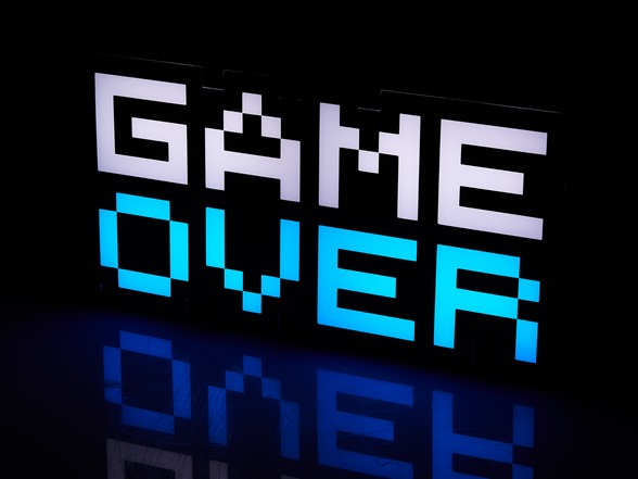 خرید چراخ گیم اور Game Over Light