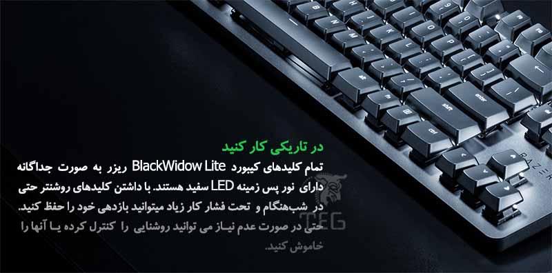 Blackwidow Lite Mercury