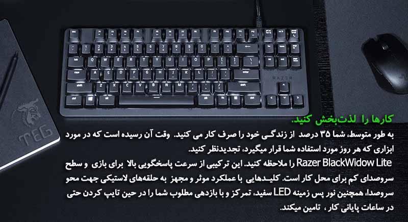Keyboard Razer Blackwidow Lite Storm Trooper