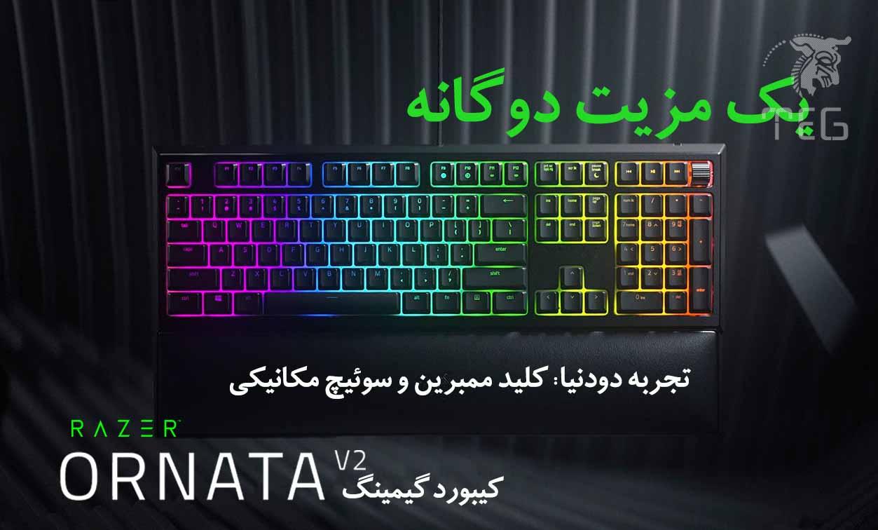Keyboard Razer Ornata V2