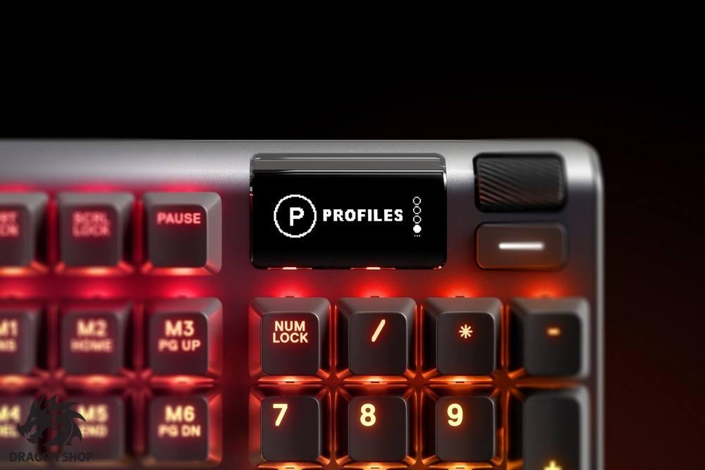 کیبورد گیمینگ استیل سریز Apex Pro