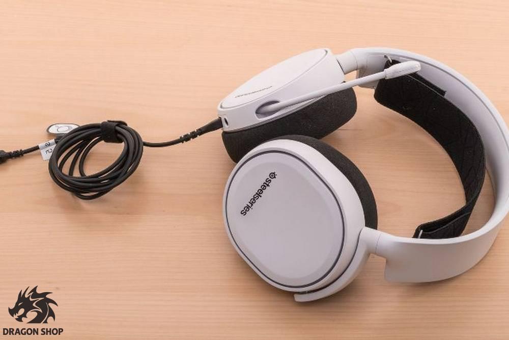هدست استیل سریز سفید Headset Gaming Steel Series Arctis 5