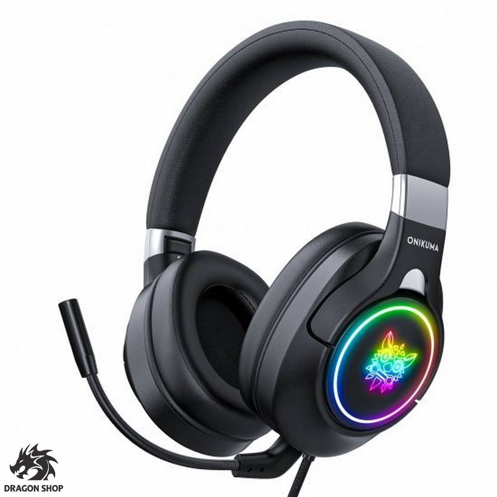 هدست مخصوص بازی اونیکوما Headset Gaming ONIKUMA K15 RGB