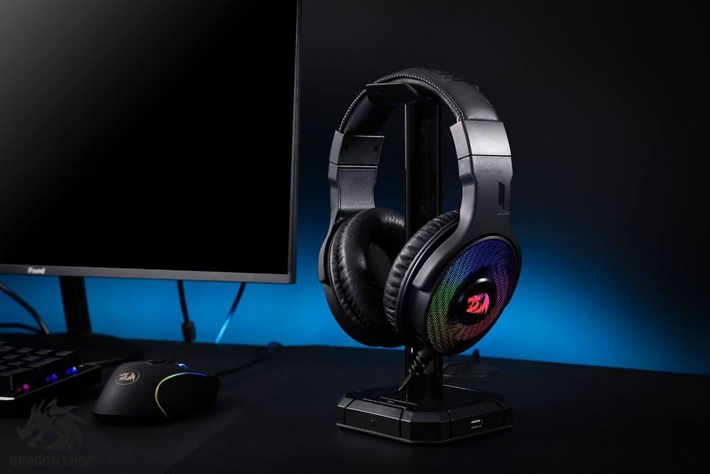 هدست گیمینگ ردراگون Headset Gaming Redragon Pandora H350