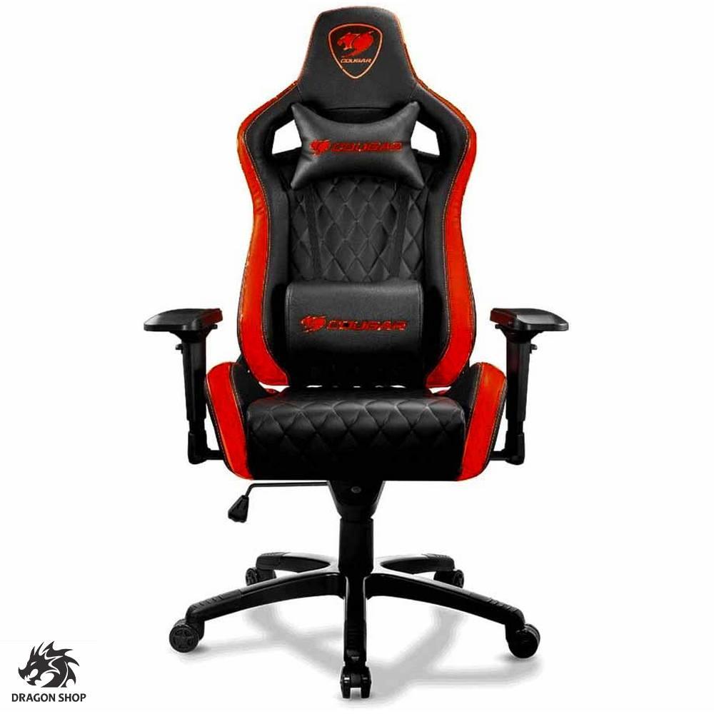 صندلی گیمینگ کوگار قرمز Armor S