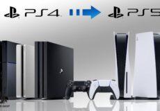 انتقال دادهها از PS4 به PS5