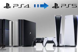 نحوهی انتقال دادهها از PS4 به PS5