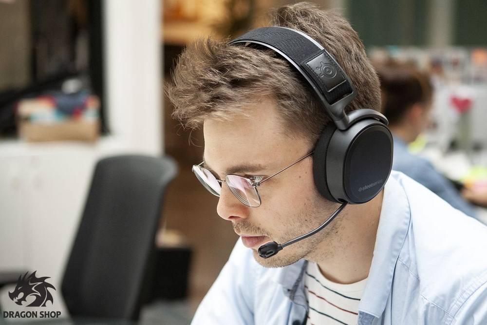 هدست استیل سریز Headset Gaming Steel Series Arctis Pro
