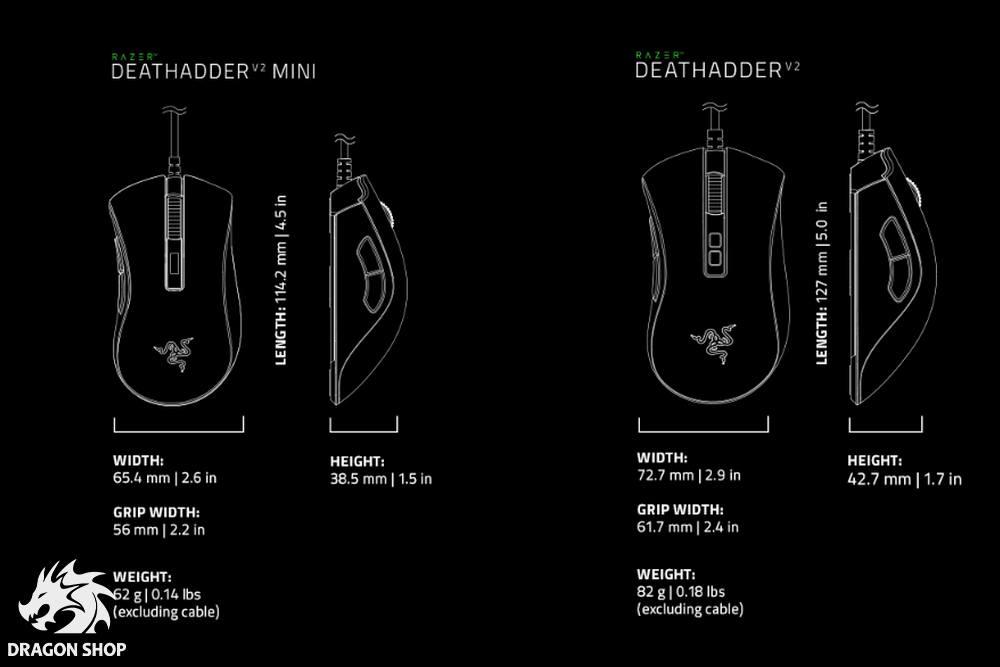 موس گیمینگ ریزر Mouse Razer DeathAdder V2 Mini